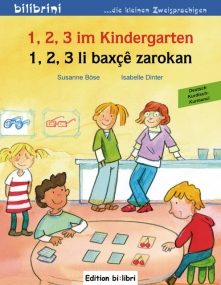 1, 2, 3 im Kindergarten Deutsch--Kurdisch (Kurmancî)