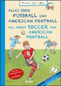 Alles über Fußball und American Football / All about Soccer and American Football