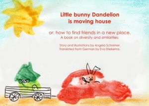 Little Bunny Dandelion is moving house - Buch für Drittkulturkinder