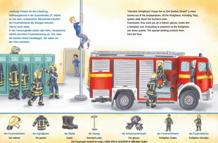 Tamakai Books Interkulturelle Versandbuchhandlung Die Feuerwehr